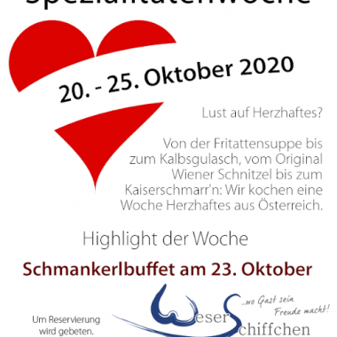 Informationsflyer Österreichwoche 2020