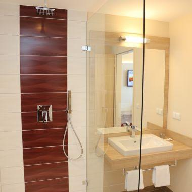 Badezimmer im Doppelzimmer Comfort / Familienzimmer Comfort