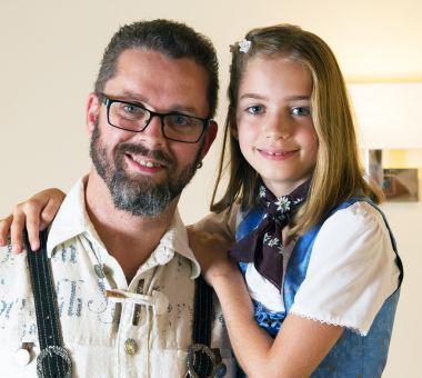 Hans-Jörg Glechner & Tochter