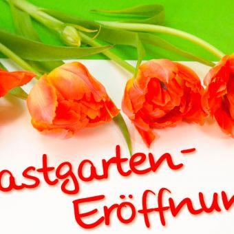 1. Mai Gastgarten-Eröffnung
