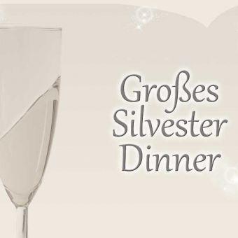 Großes Silvester-Dinner